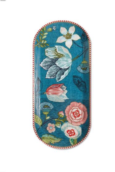 Spring to Life Taartplateau 34 cm Blauw