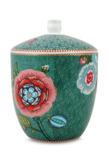 Spring to Life Storage Jar Green