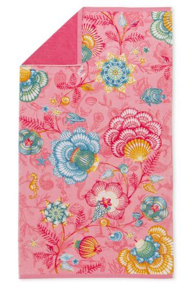 Beach towel Shellebrations pink