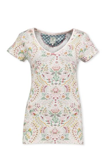T-Shirt Sea Stitch Pink