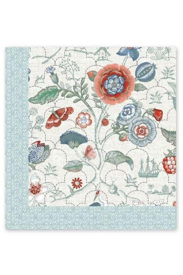 Quilt Spring to life petit White