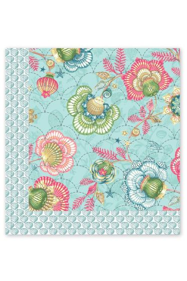 Quilt Shellebration Aqua