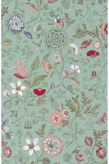 Spring to Life behang groen