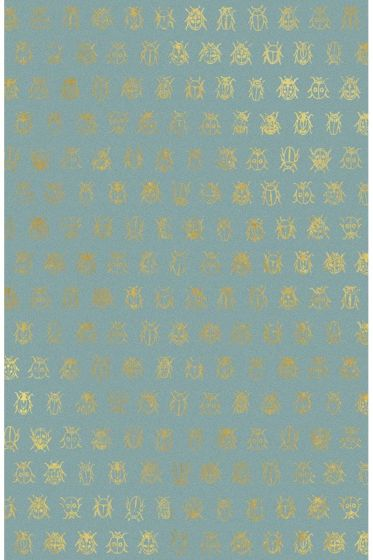 Lady Bug wallpaper sea blue