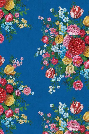 Dutch Painters Tapete dunkelblau