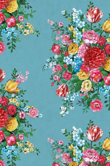 Dutch Painters Light Blue wallpaper
