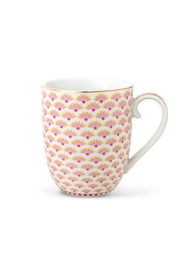 Small Floral Bloomingtales mug white