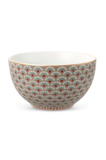 Small Floral Bloomingtales bowl khaki