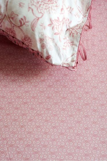 Fitted sheet Lacy Pink