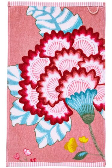 Floral Fantasy Gästetuch Rosa
