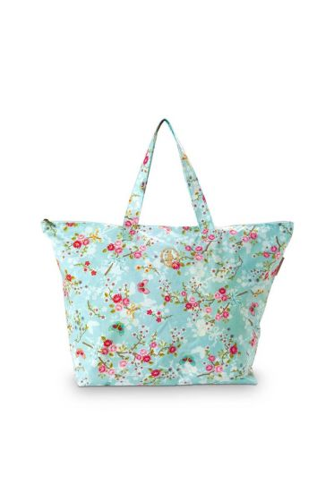 Pip Classic Beach Bag Chinese Blossom Blue