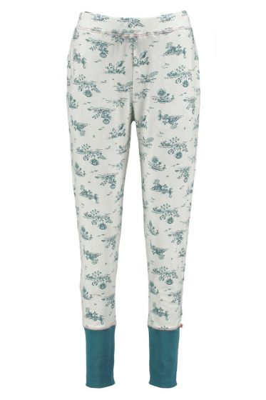 Long Trousers Flow de Fleur Aqua