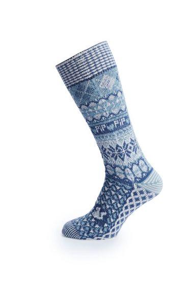 Socks Go Nuts blue