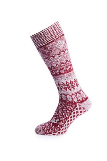Socks Go Nuts pink