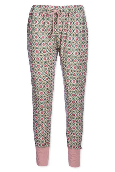 Trousers Double Check pink