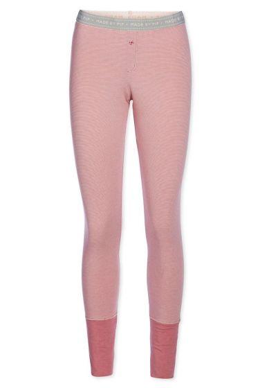 Legging long Stripers pink