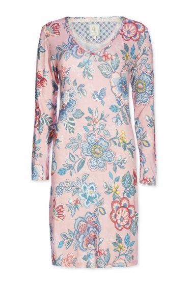 Nachthemd U-Ausschnitt Berry Bird Rosa