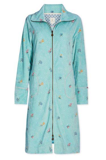Home coat velvet Grand Berry blue