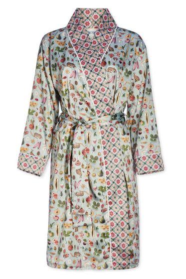 Kimono Forest Treasures groen