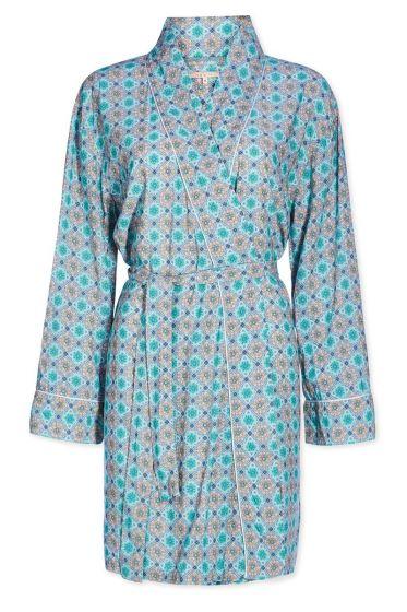 Kimono Double Check groen