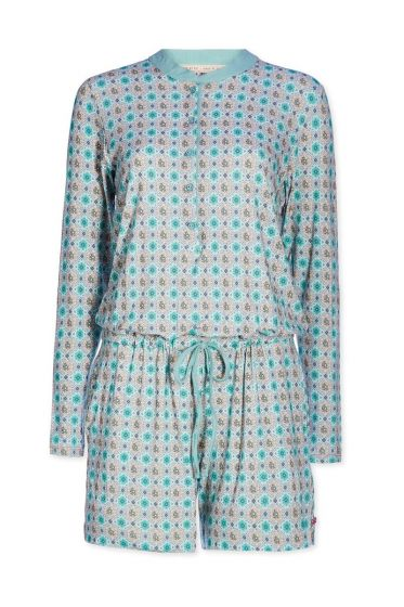 Playsuit Double Check groen