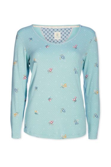 Top longsleeve Grand Berry blue