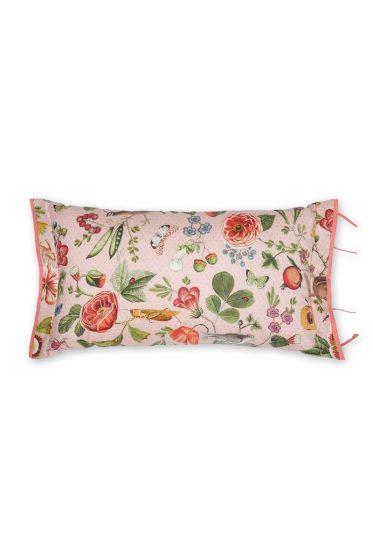 Zierkissen Woodsy rechteckig rosa