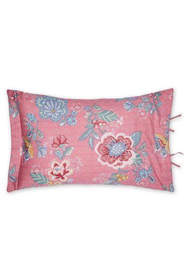 Cushion Berry Bird rectangle pink