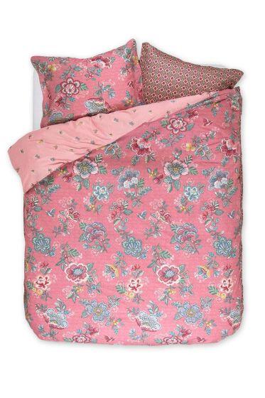 Bettbezug Berry bird rosa