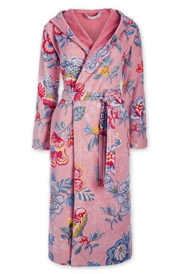 Bathrobe Berry Bird pink