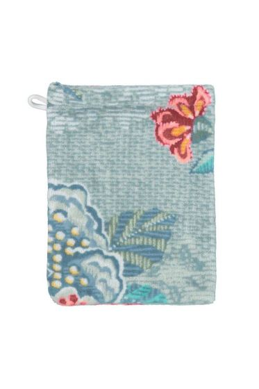 Wash cloth Berry Bird blue