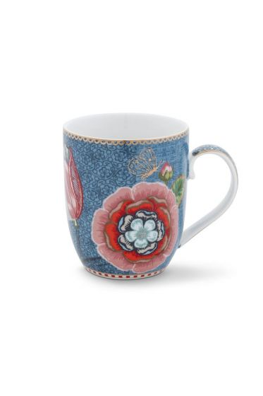 Spring to Life Mug Small blue