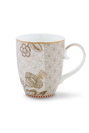 Spring to Life Mug Large off white