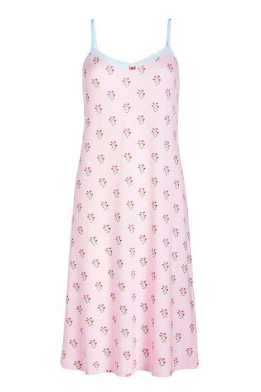 Sleeveless nightdress Upsy Daisy pink