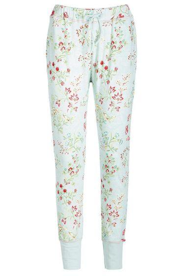 Long trousers Jaipur Flower blue
