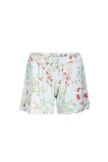 Short trousers Jaipur Flower blue