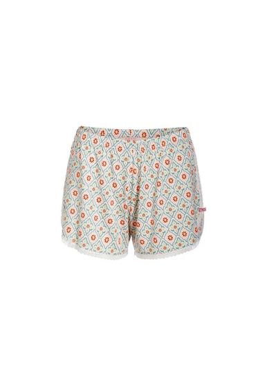 Short trousers Star Check pink