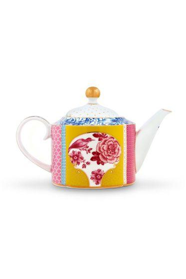 Royal Teekanne klein mehrfarbig