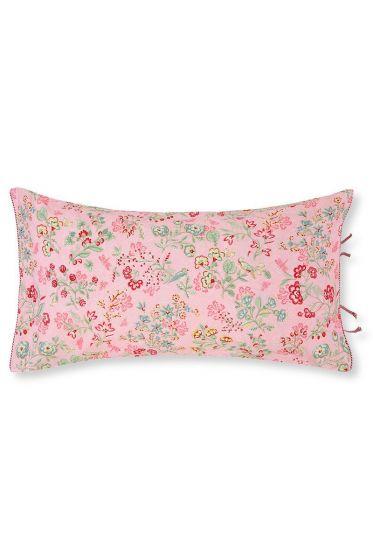 Cushion Jaipur Flower rectangle Pink