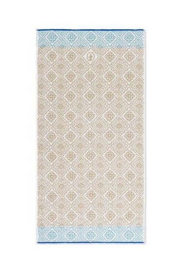 XL Bath towel Jacquard Check Khaki