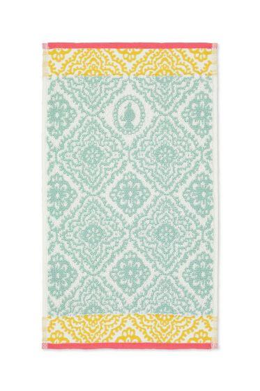 Guest towel Jacquard Check Light blue 30 x 50 cm