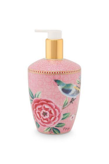 Soap Dispenser Floral Good Morning Pink