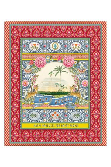 Ringbinder A4 Indian Festival 4 rings red