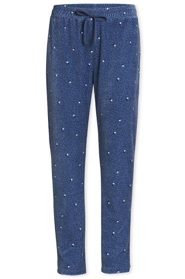 Long Trousers Freckle Blue