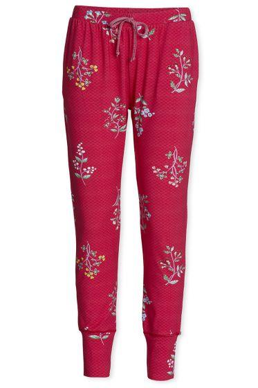 Trousers Long Winter Wonderland XL Cerise