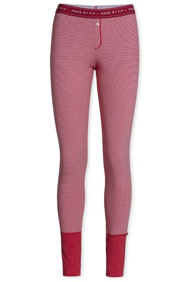 Leggings Long Stripers Cerise
