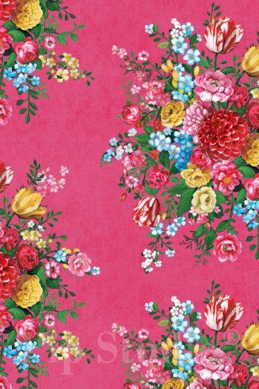 Dutch Painters Pink wallpaper