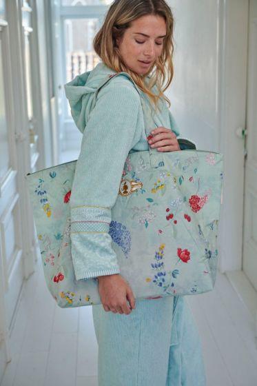 Weekend bag Hummingbirds Green