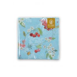 Floral paper napkins hummingbirds blue pip studio the official website mightylinksfo