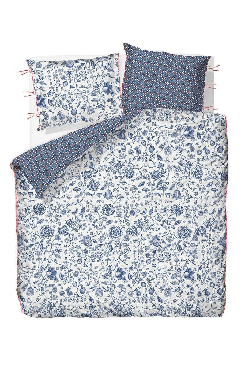 Duvet Cover Two Sided Buttons Up Dark Blue Pip Studio The Official